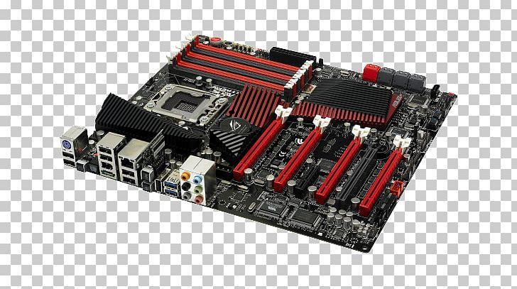 Intel X58 Motherboard LGA 1366 Republic Of Gamers PNG