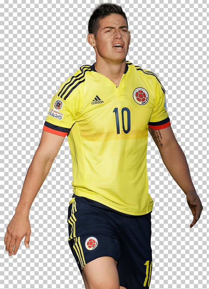 super popular 9ab37 60aad James Rodríguez Colombia National Football Team Jersey ...