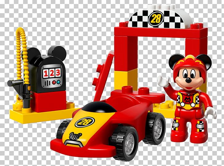 Mickey Mouse Lego Racers Amazoncom Lego Duplo Png Clipart