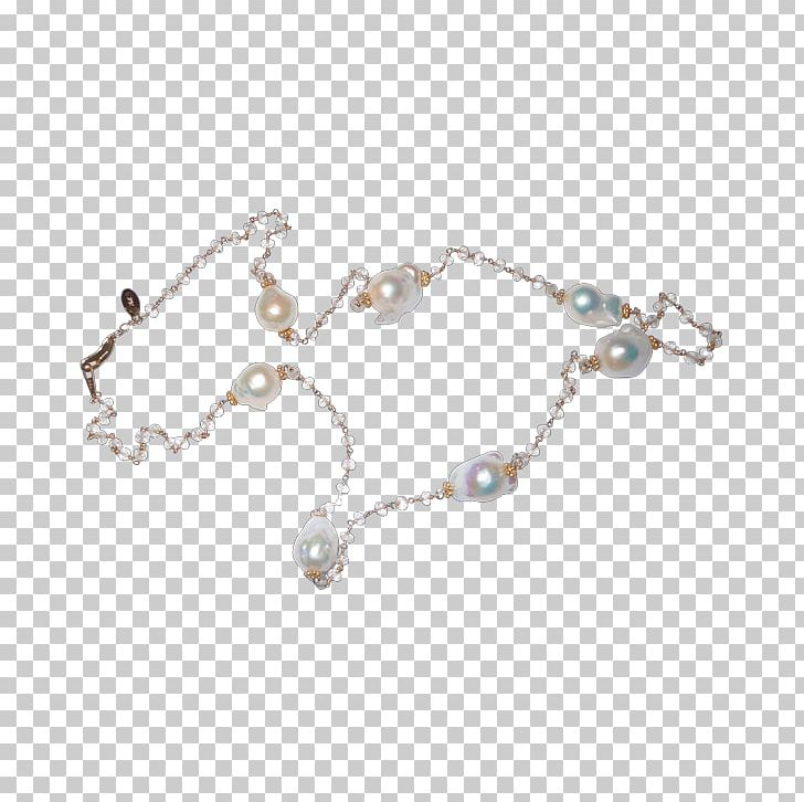 Pearl Body Jewellery Necklace Bracelet PNG, Clipart, Ball And Chain, Body Jewellery, Body Jewelry, Bracelet, Chain Free PNG Download