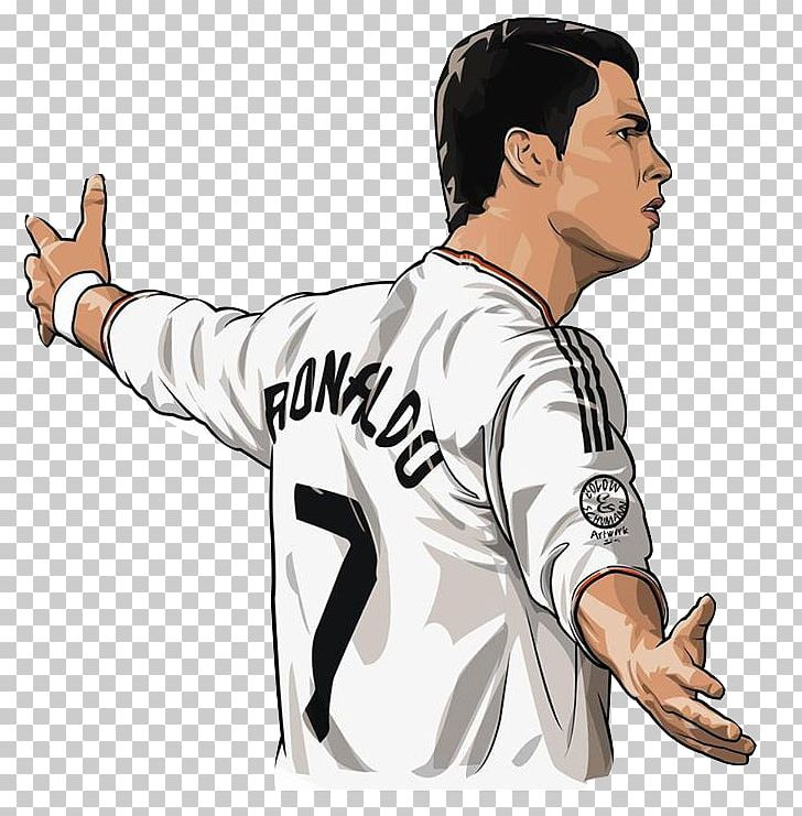 15df7a14e Cristiano Ronaldo Real Madrid C.F. Portugal National Football Team  Manchester United F.C. Cartoon PNG