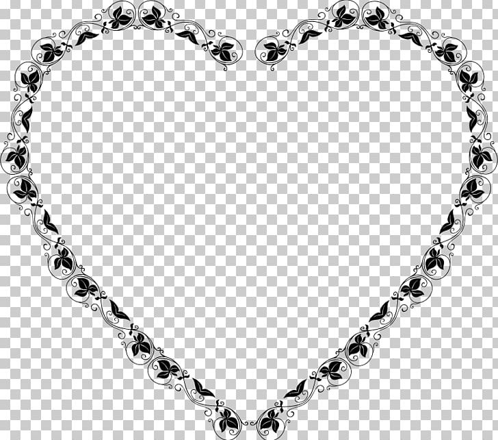 Love Borders And Frames Black And White PNG, Clipart, Black