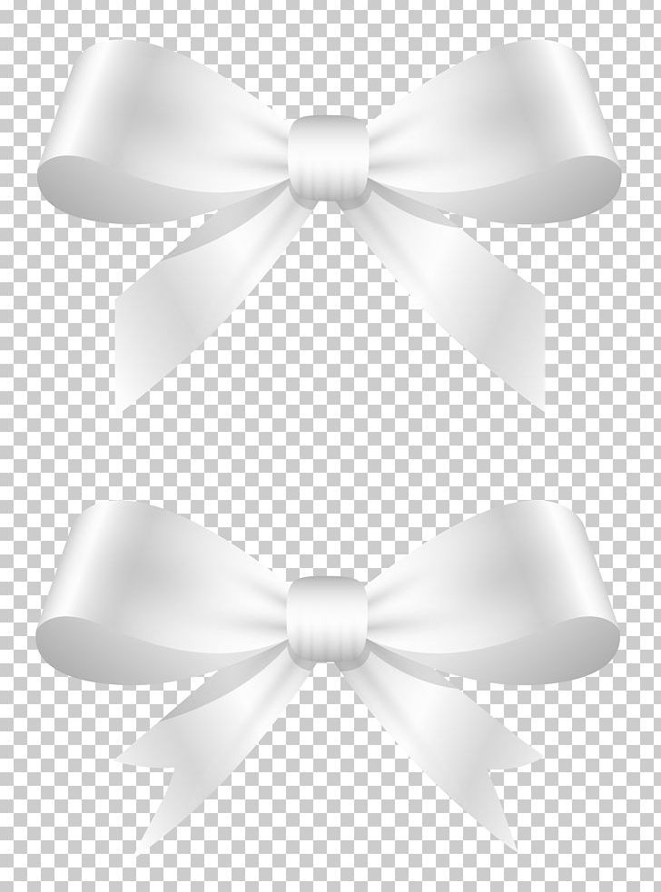 White knot bow