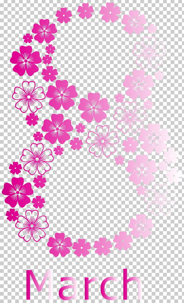 International Women's Day March 8 PNG, Clipart, Area, Circle, Flora, Floral Design, Floristry Free PNG Download