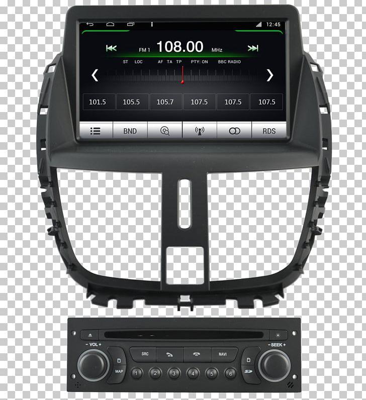 Peugeot 207 GPS Navigation Systems Car Citroën C5 PNG