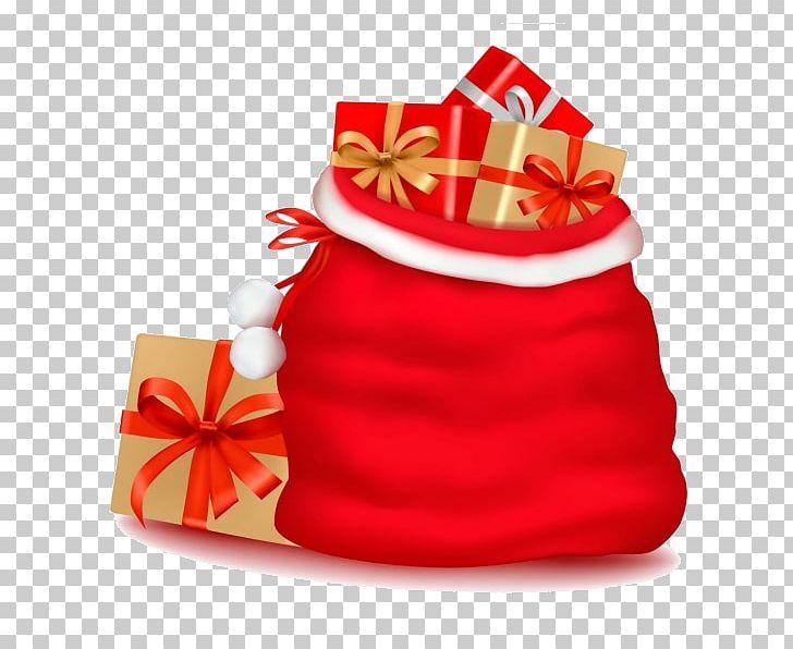 Santa Claus Gift Christmas Day Graphics PNG, Clipart, Bag, Christmas Card, Christmas Day, Christmas Decoration, Christmas Gift Free PNG Download