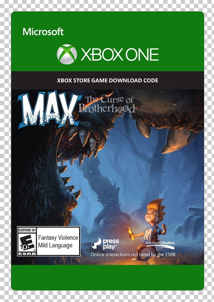 Max: The Curse Of Brotherhood Xbox 360 Microsoft Studios Video Game