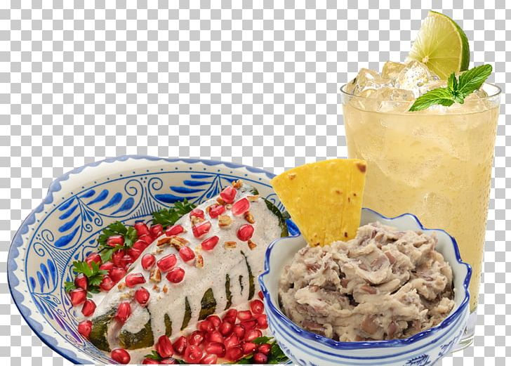 Vegetarian Cuisine Mexican Cuisine Chiles En Nogada Salsa Cemita Png Clipart Bluez Restaurant Terrace Cafe Cemita