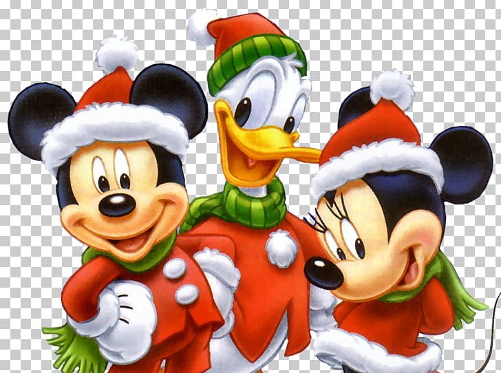 Walt Disney Christmas Wallpaper.Mickey Mouse Minnie Mouse Donald Duck Christmas The Walt