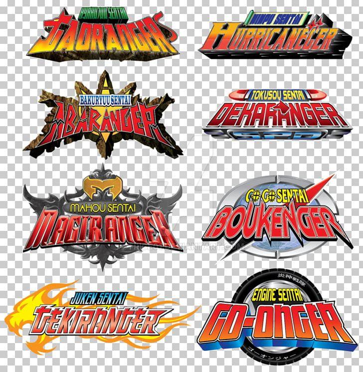 Logo Power Rangers Dino Thunder Super Sentai PNG, Clipart