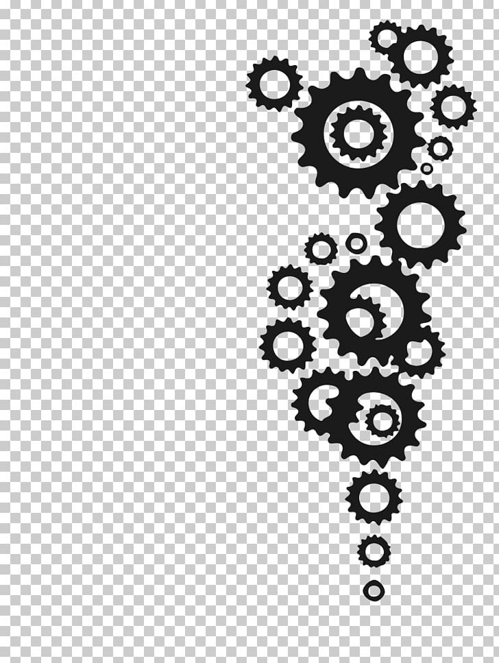 Gear Tattoo Bicycle Drawing Png Clipart Art Bicycle Black Black