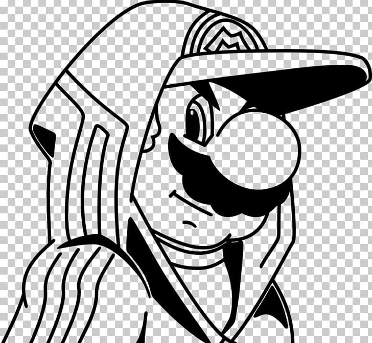 Super Mario Bros. Coloring Book Drawing Gangster PNG, Clipart, Adult, Arm,  Black, Cartoon, Child Free PNG