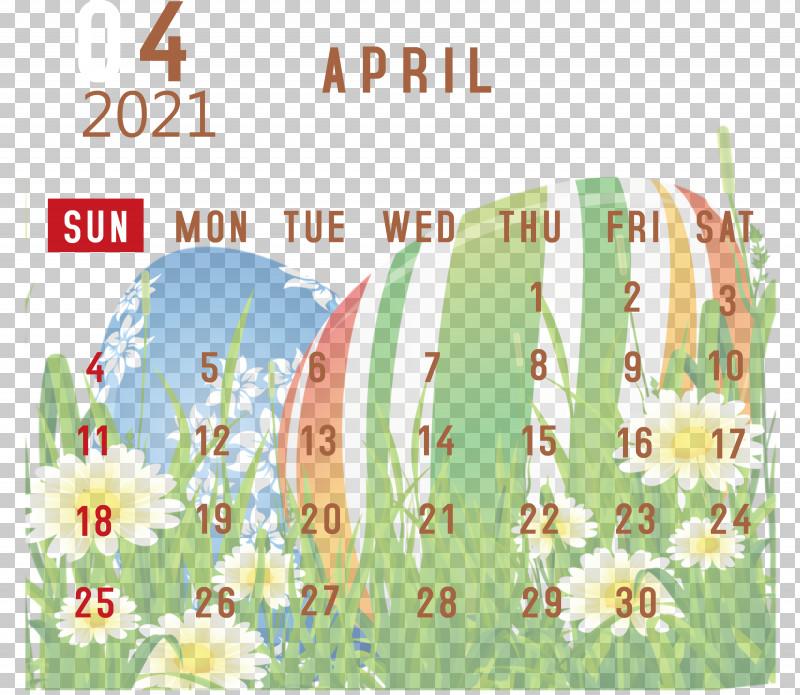 April 2021 Printable Calendar April 2021 Calendar 2021 Calendar PNG, Clipart, 2021 Calendar, April 2021 Printable Calendar, Green, Meadow, Meter Free PNG Download