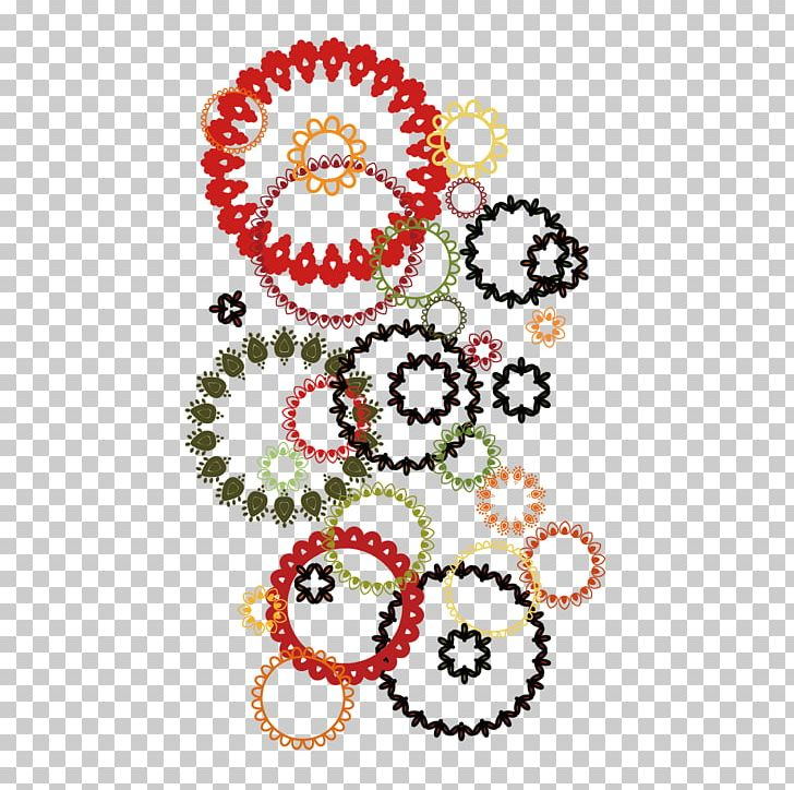 Floral Design Textile Pattern PNG, Clipart, Art, Circle, Circlet, Color, Colored Free PNG Download
