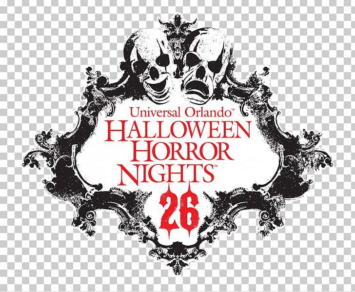 Universal's Islands Of Adventure Universal Studios Florida Universal CityWalk Halloween Horror Nights Logo PNG, Clipart, Art, Brand, Graphic Design, Halloween, Halloween Horror Nights Free PNG Download