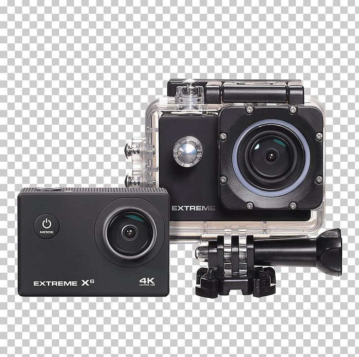 Nikkei Extreme X6 Action Camera Video Cameras 4K Resolution PNG, Clipart, 4k Resolution, 720p, 1080p, Action Camera, Camera Free PNG Download