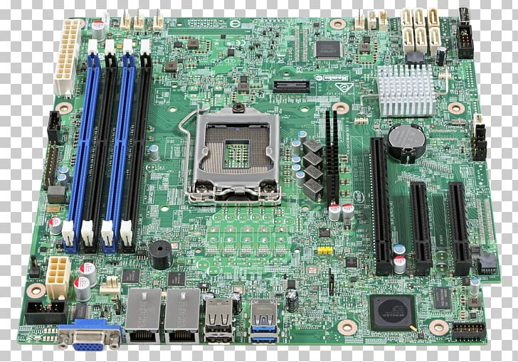 Intel Xeon Motherboard Computer Servers MicroATX PNG, Clipart