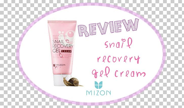Lotion MIZON Snail Recovery Gel Cream Skin PNG, Clipart, Beauty, Beautym, Cream, Gel, Lotion Free PNG Download