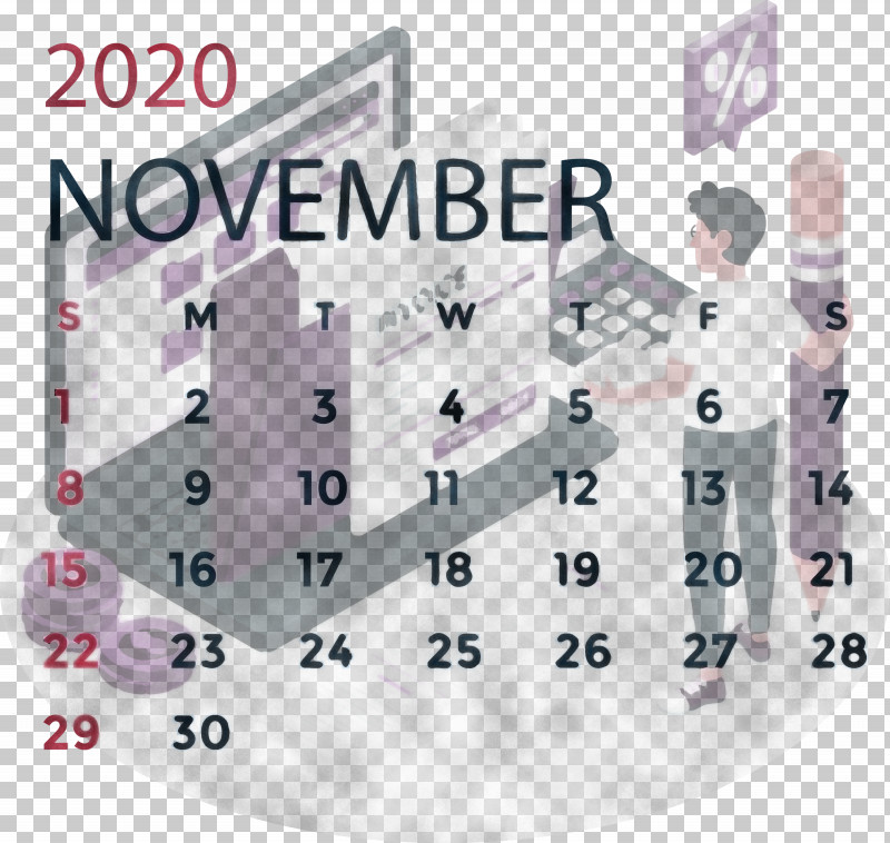 November 2020 Calendar November 2020 Printable Calendar PNG, Clipart, Businessperson, Cartoon, Corporate Identity, Invoice, Logo Free PNG Download