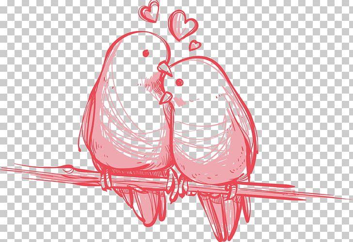 Bird Valentine's Day Wedding Gift PNG, Clipart, Art, Beak, Bird, Bird Cage, Decorative Patterns Free PNG Download