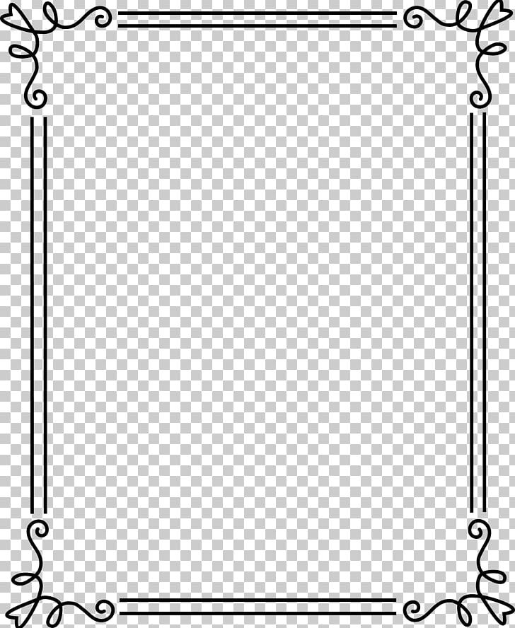 Borders And Frames Frames PNG, Clipart, Angle, Area, Art, Black, Black And White Free PNG Download