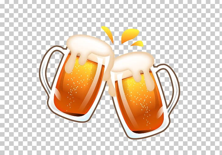 Emoji Beer Smiley Emoticon Symbol PNG, Clipart, Beer, Beer Glasses