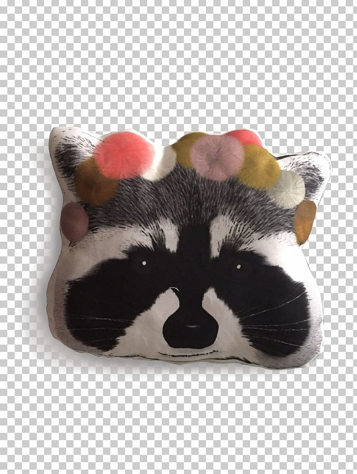Raccoon Giant Panda Cushion Whiskers Throw Pillows PNG, Clipart