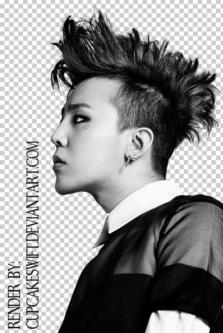 G dragon bigbang rapper singer songwriter png clipart bigbang g dragon black and white black hair