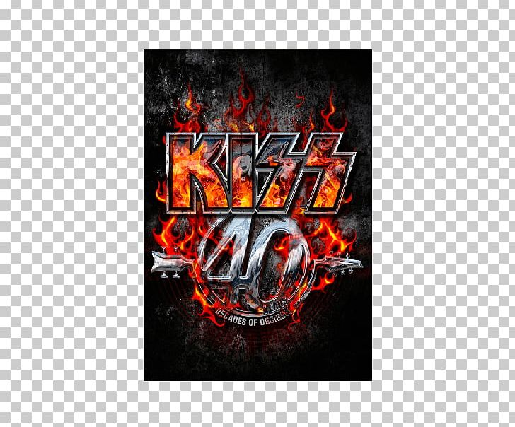 The KISS 40th Anniversary World Tour Kiss Tour Kissworld Tour PNG, Clipart, Brand, Computer Wallpaper, Concert, Concert Tour, Decade Free PNG Download