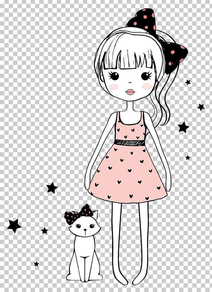 Drawing Girl Cartoon Sketch Png Clipart Cartoon Eyes Child
