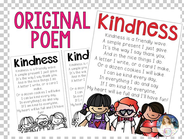 World Kindness Day Random Act Of Kindness Poetry Child PNG, Clipart