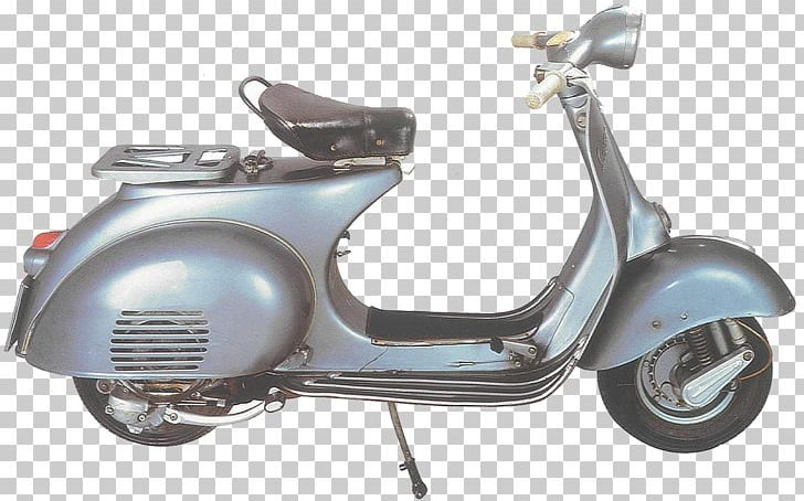 Scooter Vespa Piaggio Two-stroke Engine Motorcycle PNG