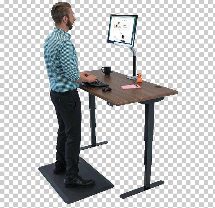 Standing Desk Treadmill Desk Sit-stand Desk PNG, Clipart