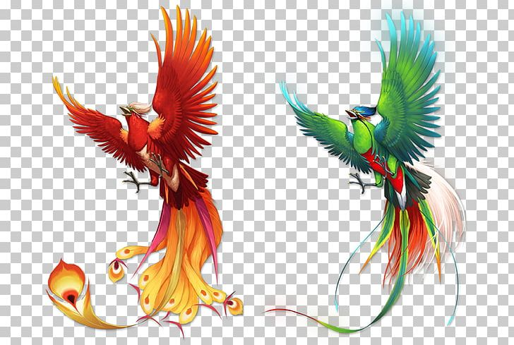 Bird Phoenix Fenghuang Png Clipart Beak Bird Birds