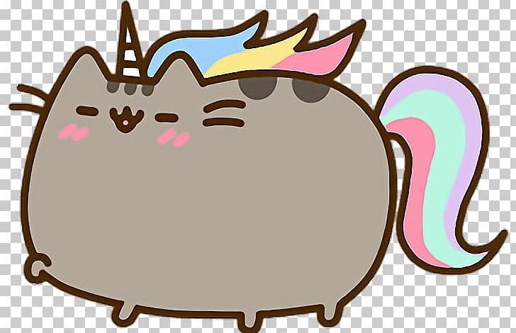 Pusheen Cat Unicorn Tenor Png Clipart Area Artwork Carnivoran