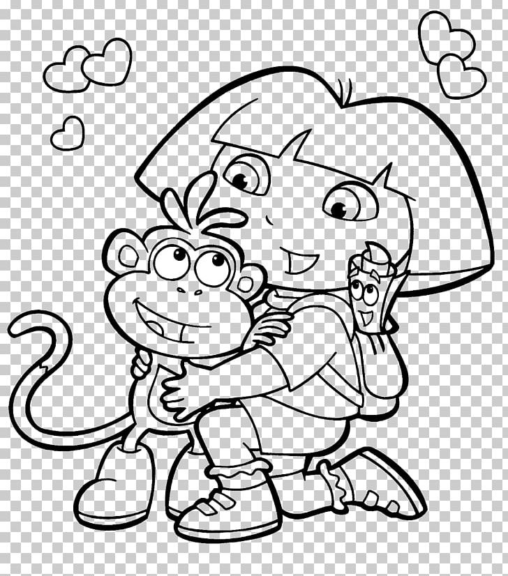 Dora Coloring Pages - Free Printables - MomJunction | 826x728