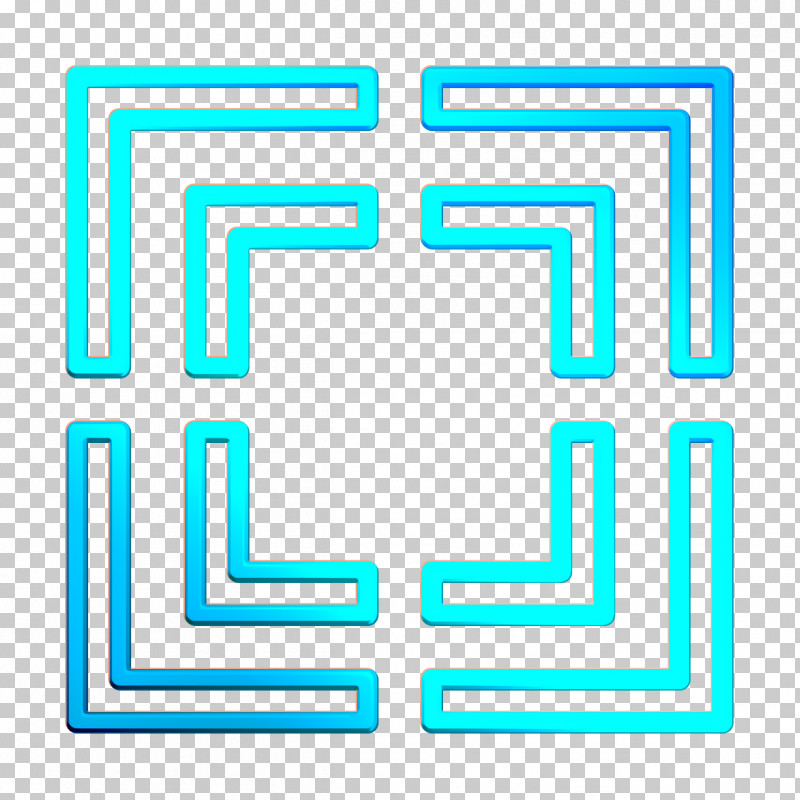 Focus Icon Movie  Film Icon PNG, Clipart, Electric Blue, Focus Icon, Line, Movie Film Icon, Rectangle Free PNG Download