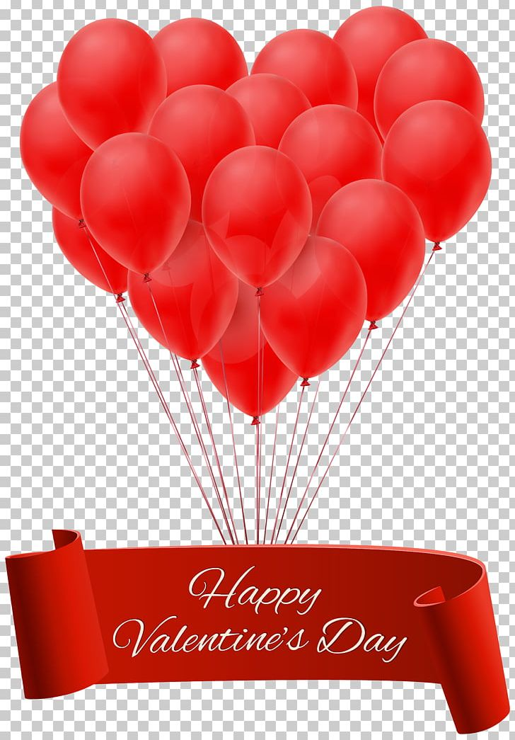 Valentine's Day Heart Balloon PNG, Clipart, Balloon, Balloons, Banner, Birthday, Clipart Free PNG Download