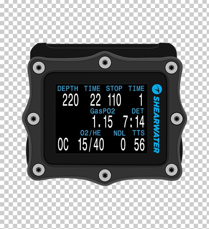 Dive Computers Underwater Diving Shearwater Research Electronics Trimix PNG, Clipart, Computer, Computer Hardware, Dive Computers, Electronics, Gauge Free PNG Download