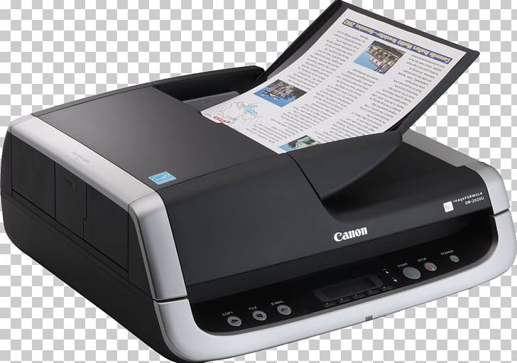 Scanner Canon Automatic Document Feeder Duplex Scanning PNG