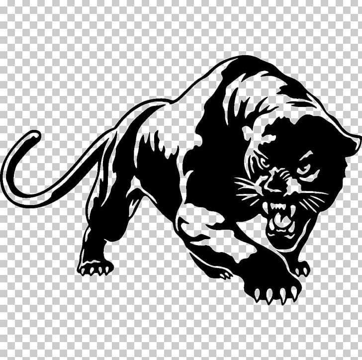 # 1015 Black Panther Decal Sticker for Car Window Laptop and More