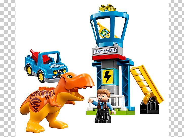 Lego Jurassic World Owen Lego 10880 Duplo T-Rex Tower Gray