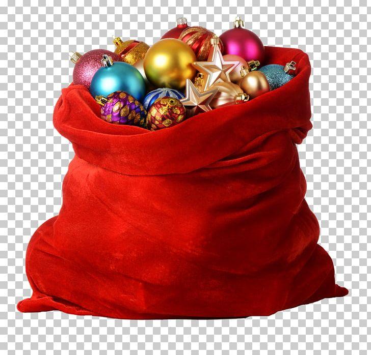 Santa Claus Christmas Gift Bag PNG, Clipart, Bag, Christmas, Christmas Decoration, Christmas Gift, Christmas Ornament Free PNG Download