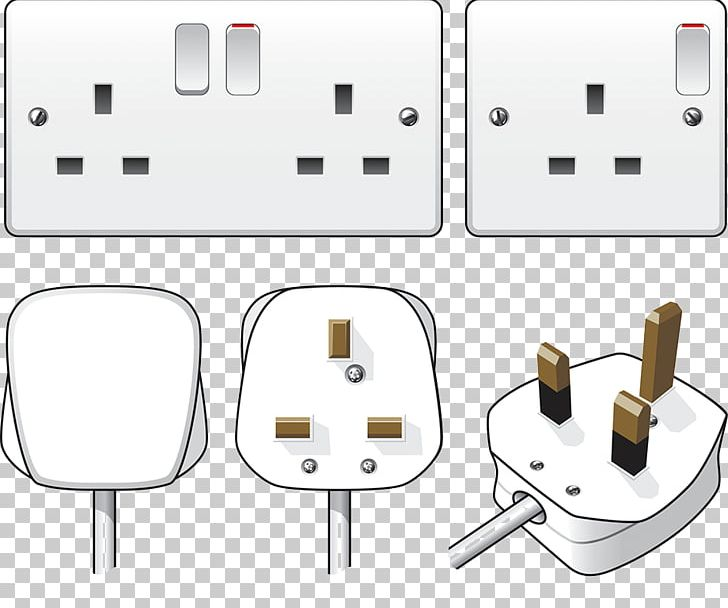 Ac Power Plugs And Sockets Electrical Wiring Power Cord Network Socket Electricity Png Clipart Appliances Cable