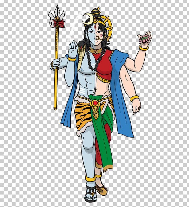 Mahadeva Parvati Ardhanarishvara Shakti Hinduism PNG, Clipart, Androgyny, Ardhanarishvara, Art, Cartoon, Clothing Free PNG Download