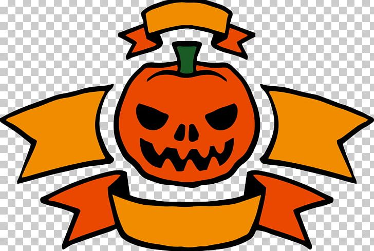 Jack-o-lantern Halloween Banner PNG, Clipart, Banner, Encapsulated Postscript, Food, Halloween, Halloween Background Free PNG Download