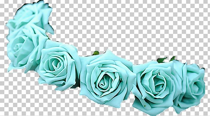 Flower crown teal. Wreath garland png clipart