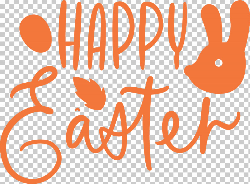 Easter Day Easter Sunday Happy Easter PNG, Clipart, Easter Day, Easter Sunday, Happy Easter, Logo, Orange Free PNG Download