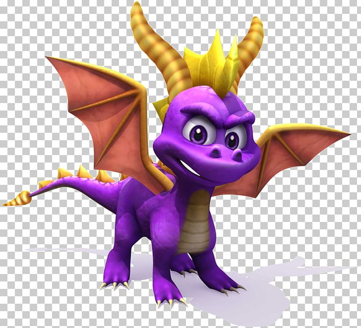 Crash Bandicoot Purple: Ripto's Rampage And Spyro Orange: The Cortex Conspiracy Spyro The Dragon Spyro: A Hero's Tail Spyro 2: Ripto's Rage! Spyro: Year Of The Dragon PNG, Clipart, Cartoon, Dragon, Fictional Character, Game, Insomniac Games Free PNG Download