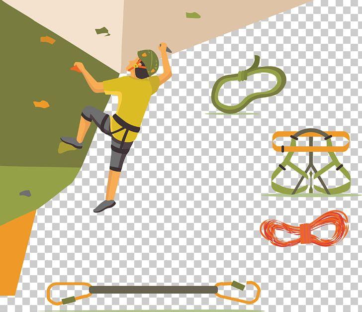 Sport Rock Climbing Png Clipart Cartoon Climbing Vector Climbing Wall Happy Birthday Vector Images Line Free